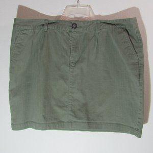 Dockers Mini Skirt Plus Size